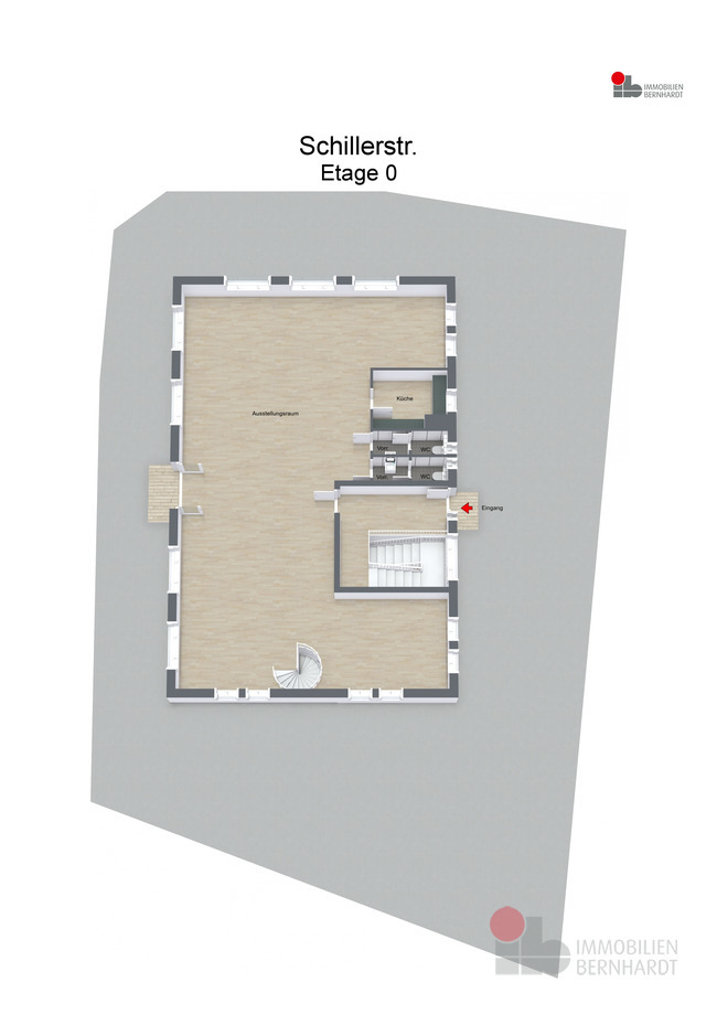 Erdgeschoss - 3D Floor Plan