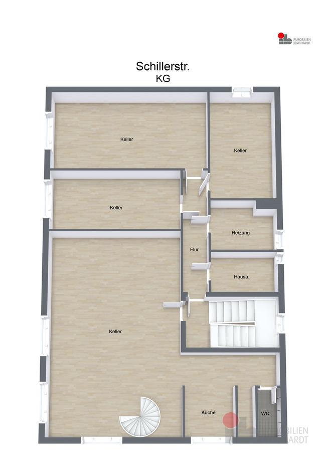 Untergeschoss - 3D Floor Plan