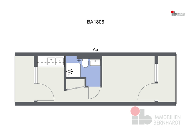 BA1806 - Ap - 2D Floor Plan