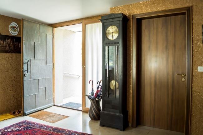 Eingang und Tür