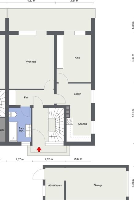 Wohnung 1 Erdgeschoss
