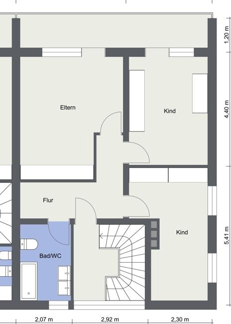 Wohnung 2 Obergeschoss