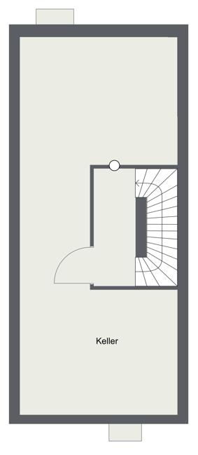 Keller - Grundriss