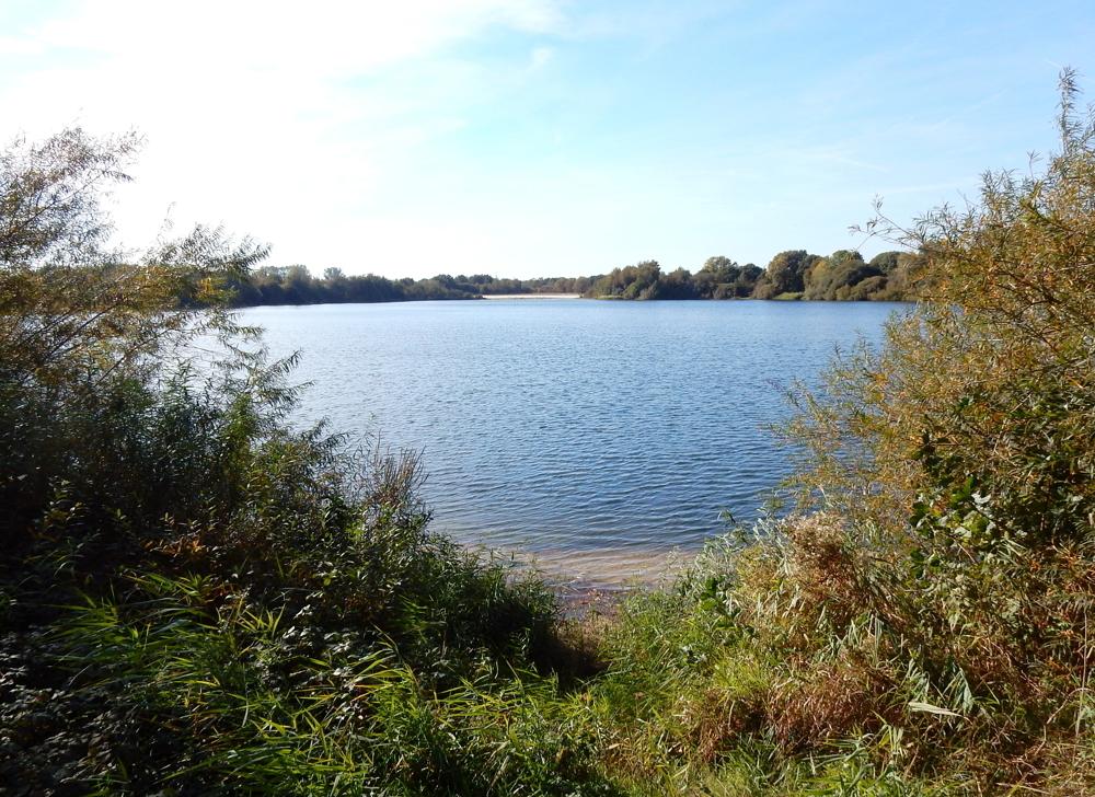 Spieksee zur Siedlung grenzend