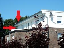 Ansicht Gebäude hinten