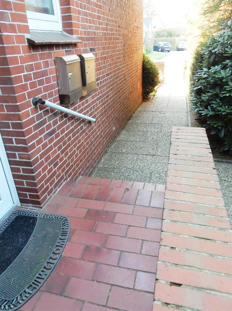 Eingangstreppen Bereich