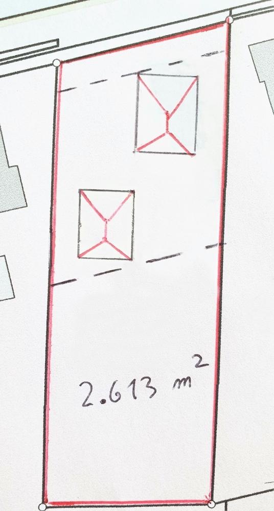 unverbindliche Skizze für evtl. Neubeplanung