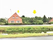 Ansicht vorne gesamt (Rajen 193 Haus mit Bp. 195 im Garten