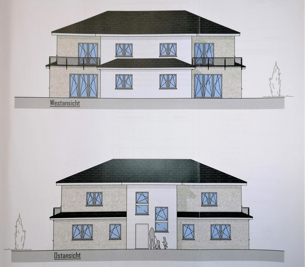 Ansichten Haus 1