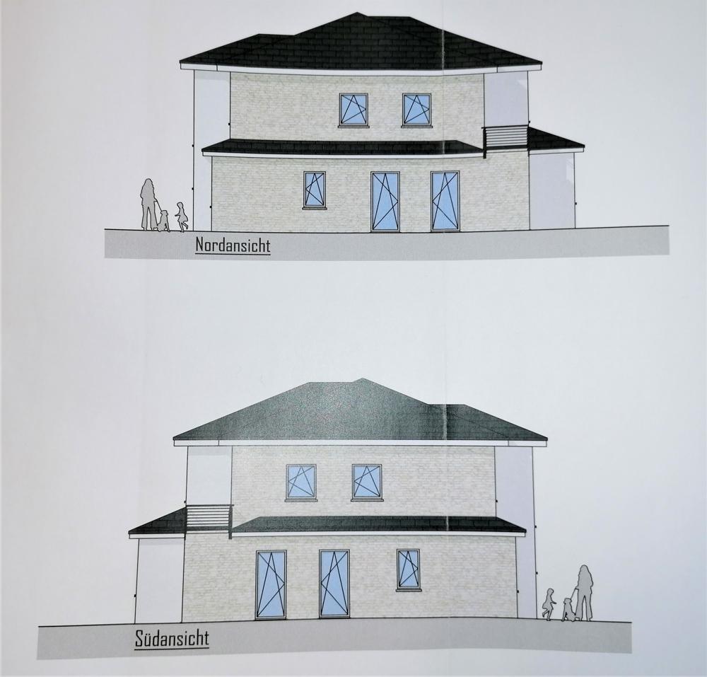 Ansichten Haus 2