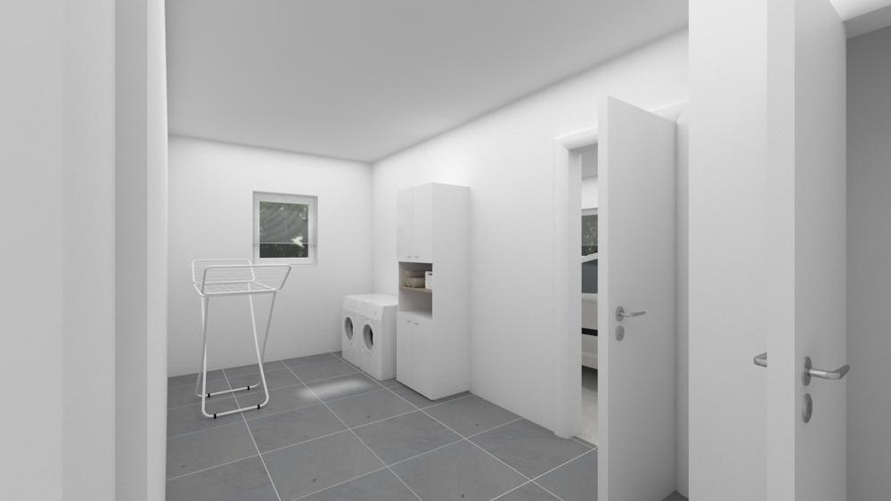 virtuell: Hauswirtschaftsraum