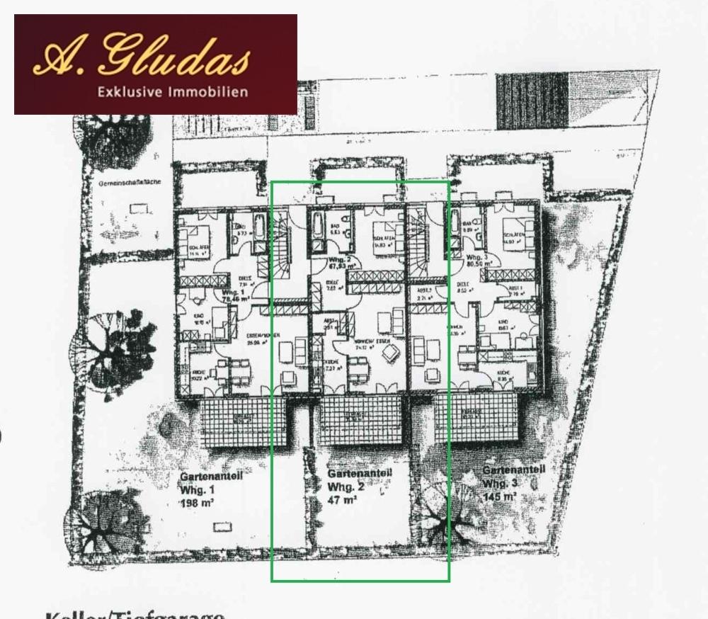 Freiflächenplann - Wohnung