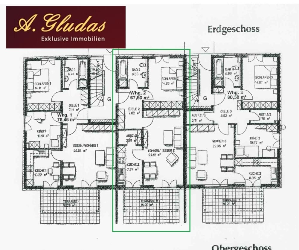 Grundriss-Wohnung