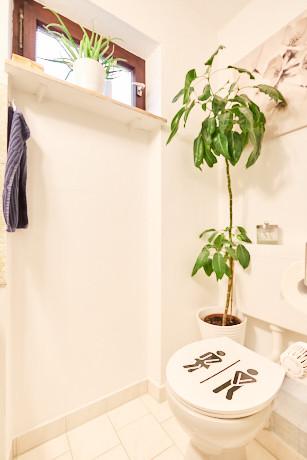 moderne Toilette separat