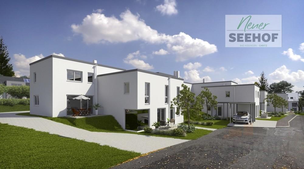 Blick auf Häuser von Wendehammer Logo