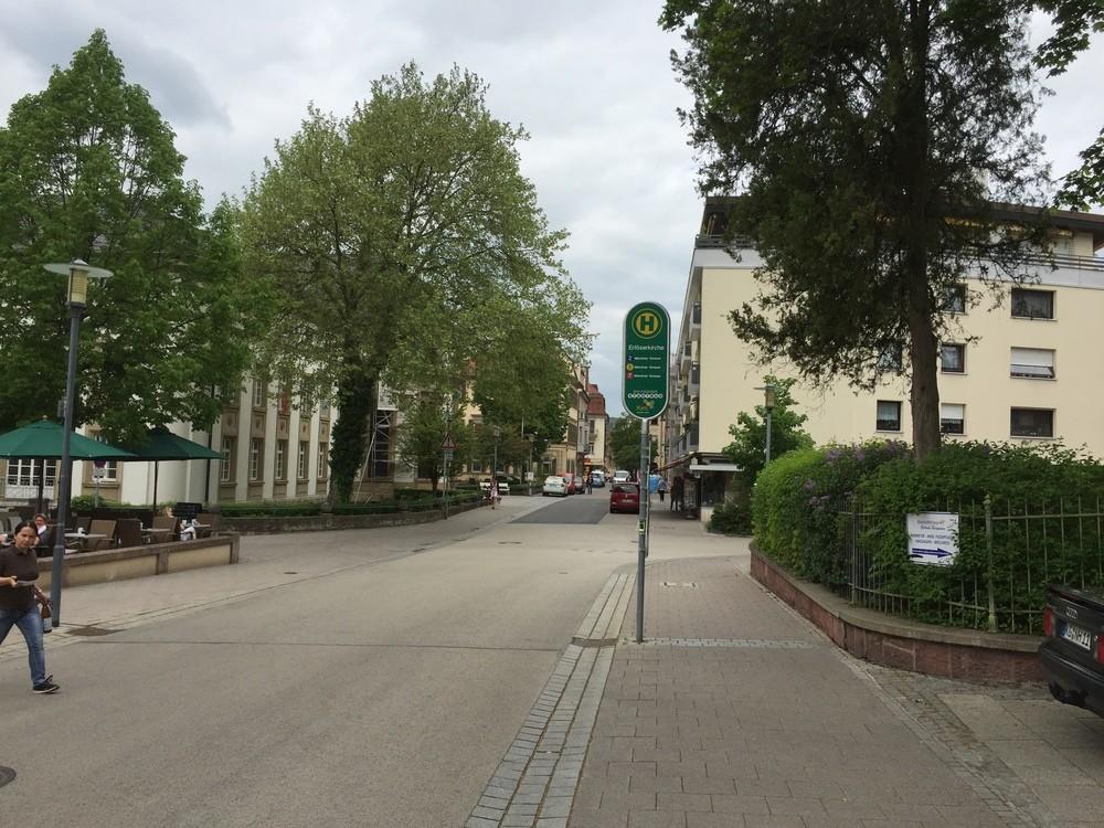 zentrale Innenstadtlage mit guter Verkehrsanbindung