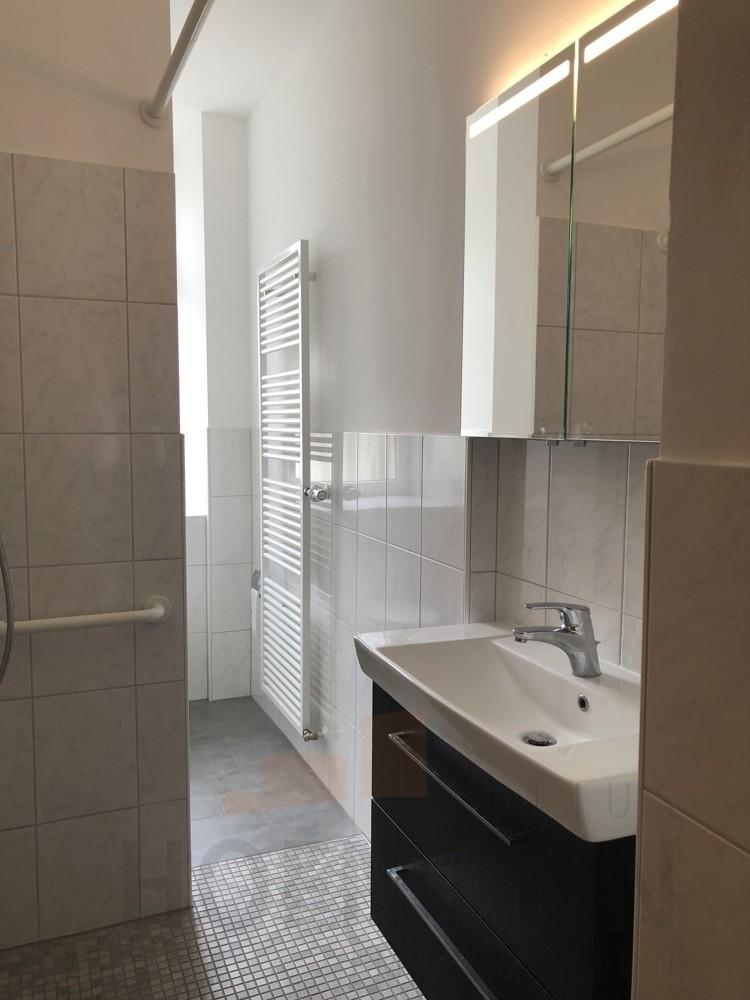 neues Bad mit Dusche