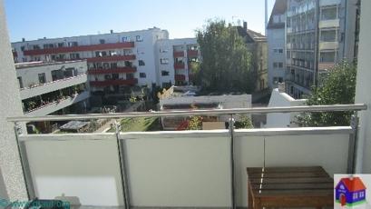 vom Balkon aus