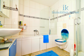 Das Badezimmer EG