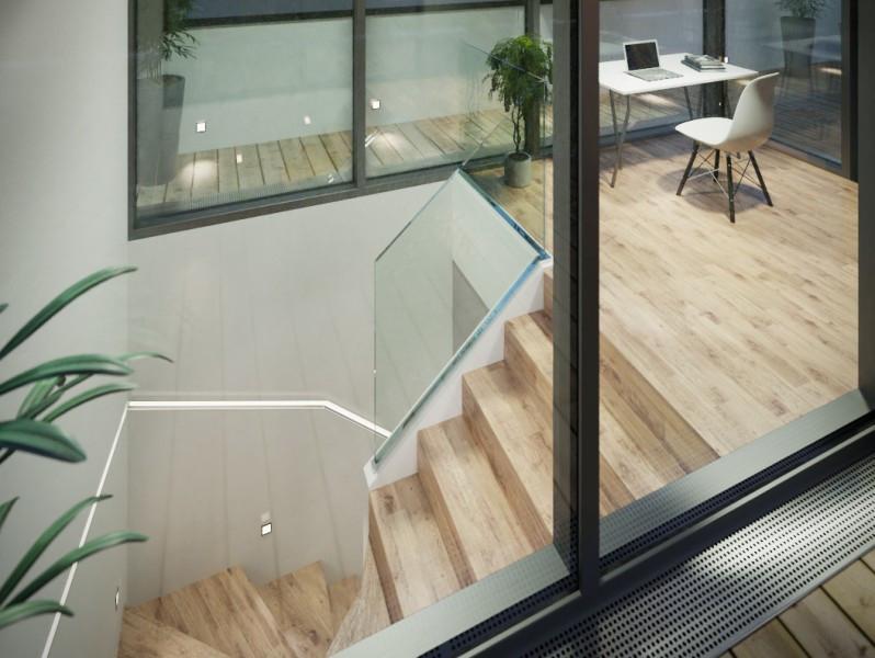 Symbolbild - Treppe - Einrichtungsvorschlag