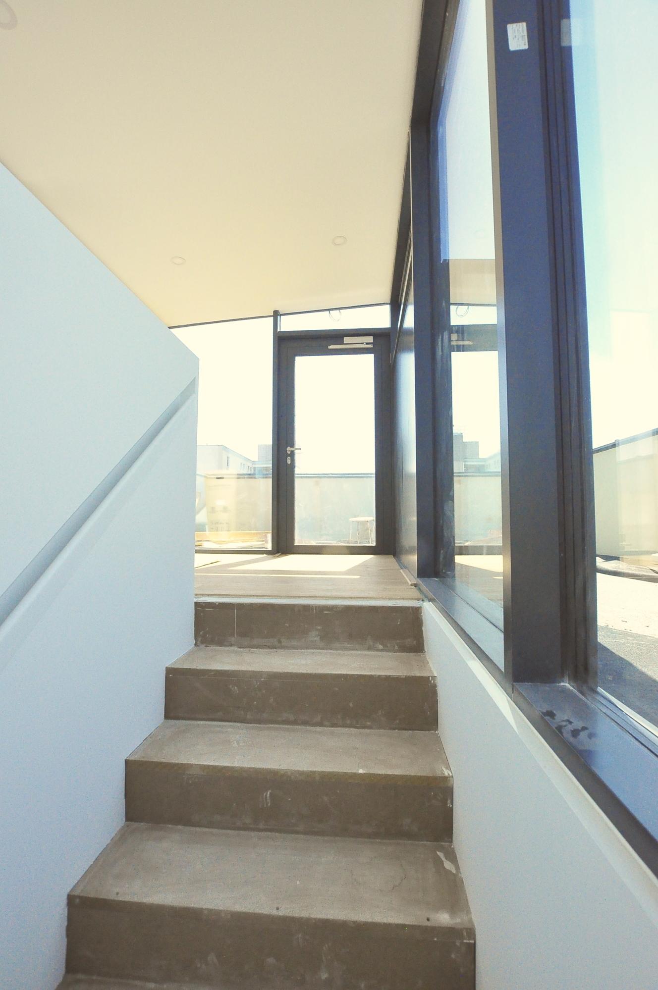 Treppenaufgang Wintergarten
