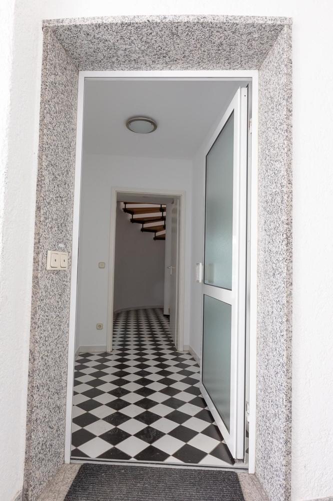 direkter Eingang zur Wohnung