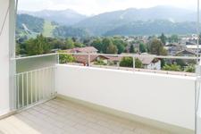 Ausblick von der Terrasse/Loggia