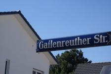 Willkommen in der Gailenreutherstrasse!
