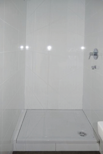sep. weißes Duschbad