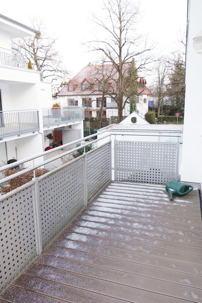 offener Bereich der Terrasse