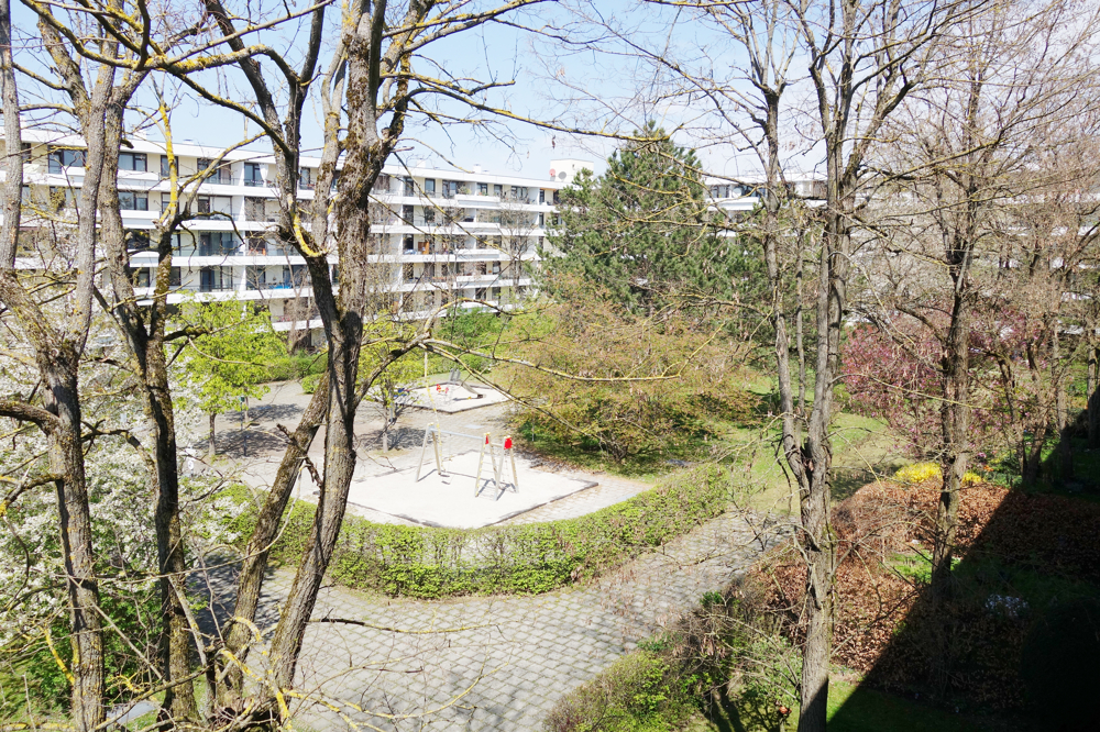 Blick vom Balkon (rechts)
