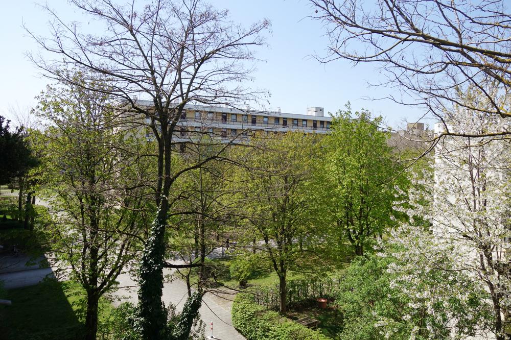 Blick vom Balkon (links)