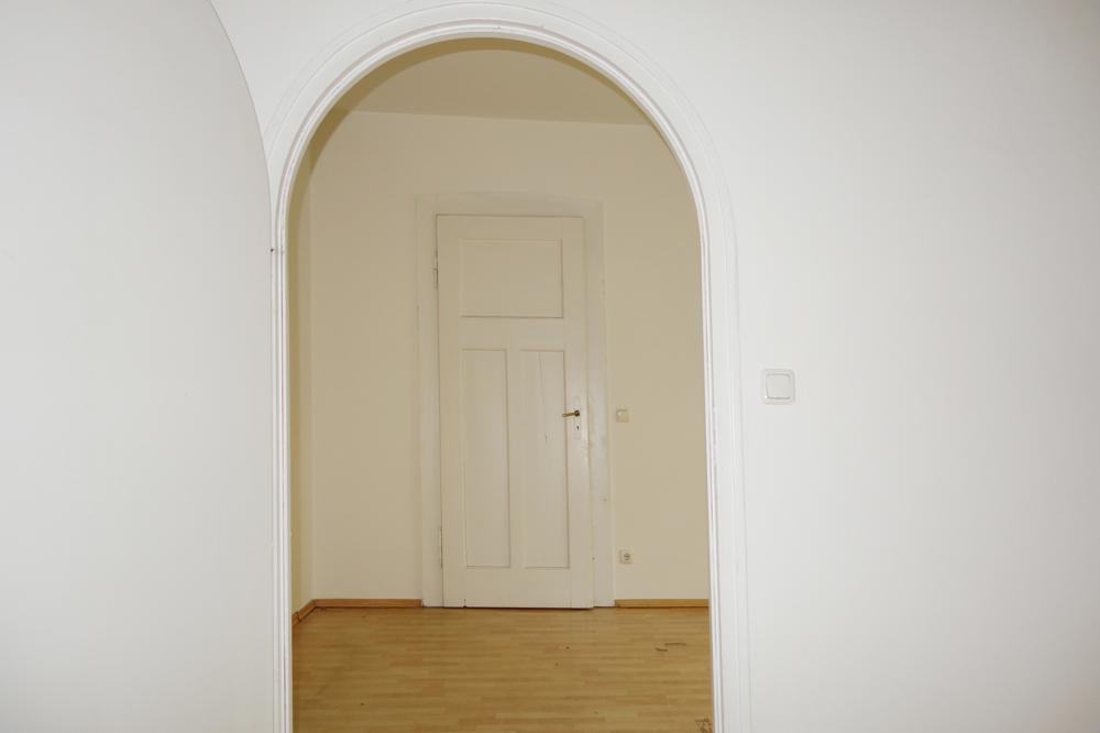 Blickachse aus Raum 4 Richtung Raum 3