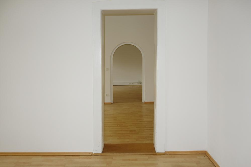 Blickachse aus Raum 2 Richtung Raum 3 und 4