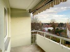 Loggia / großer Balkon
