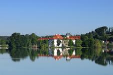 Blick auf den See/Kloster