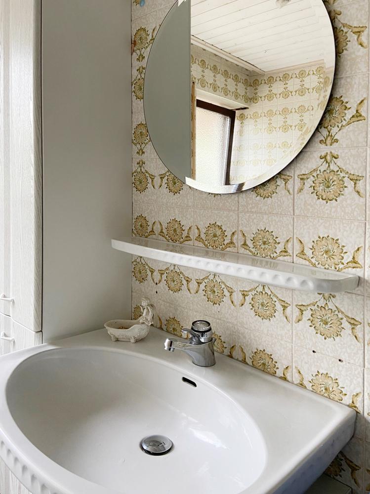 Badezimmer (Detail) Erdgeschoss