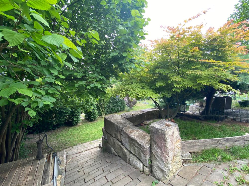 Zugang zum unteren Teil des Gartens