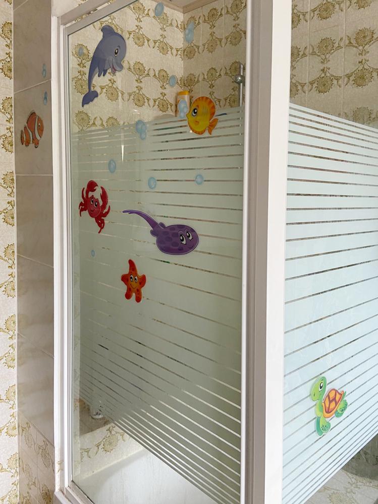 Dusche im Badezimmer Erdgeschoss