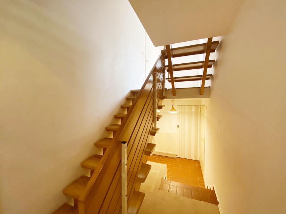 Treppenzugang zum Keller