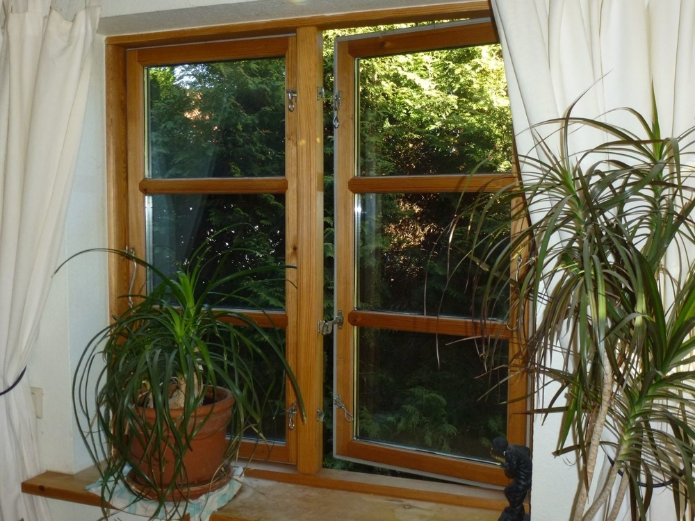 Fenster öffnen sich nach Außen