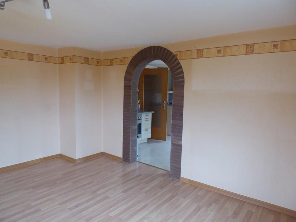 Wohnraum Blick zur Küche