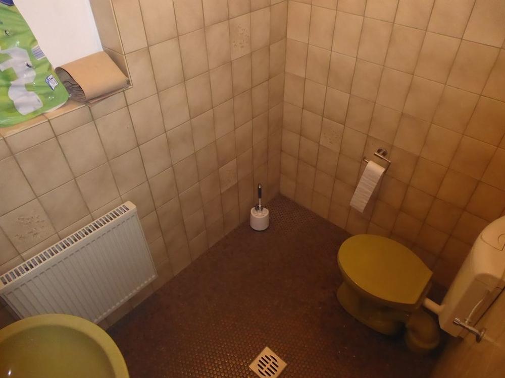 WC im Untergeschoss
