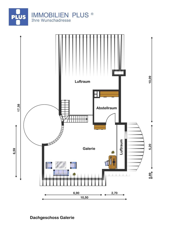 Dachgeschoss/Galerie
