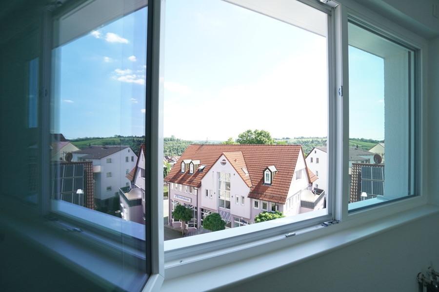 Aussicht Küchenfenster