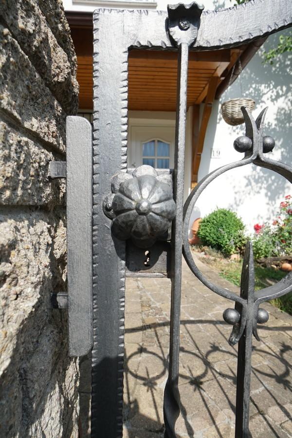 Gartentür