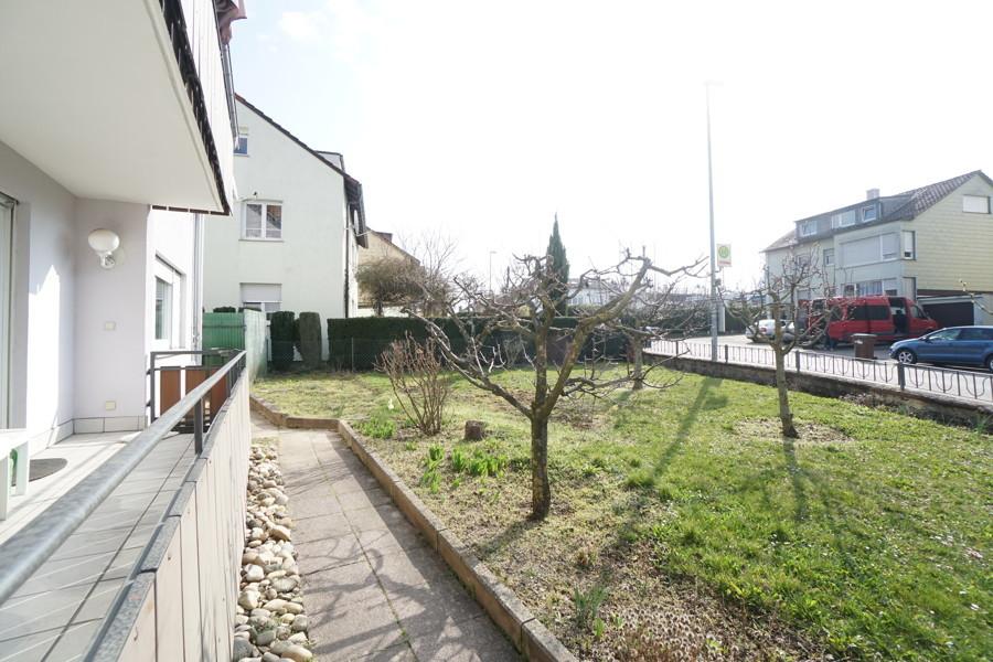 Garten mit Balkon EG