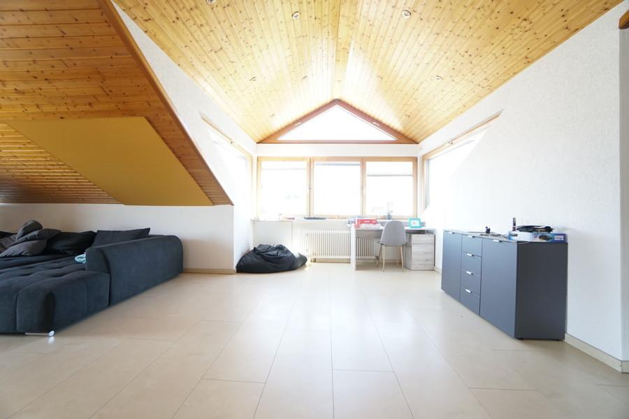Büro und Wohnbereich
