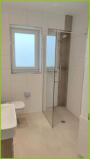 Duschbad (Beispielfoto einer fertigen Wohnung)