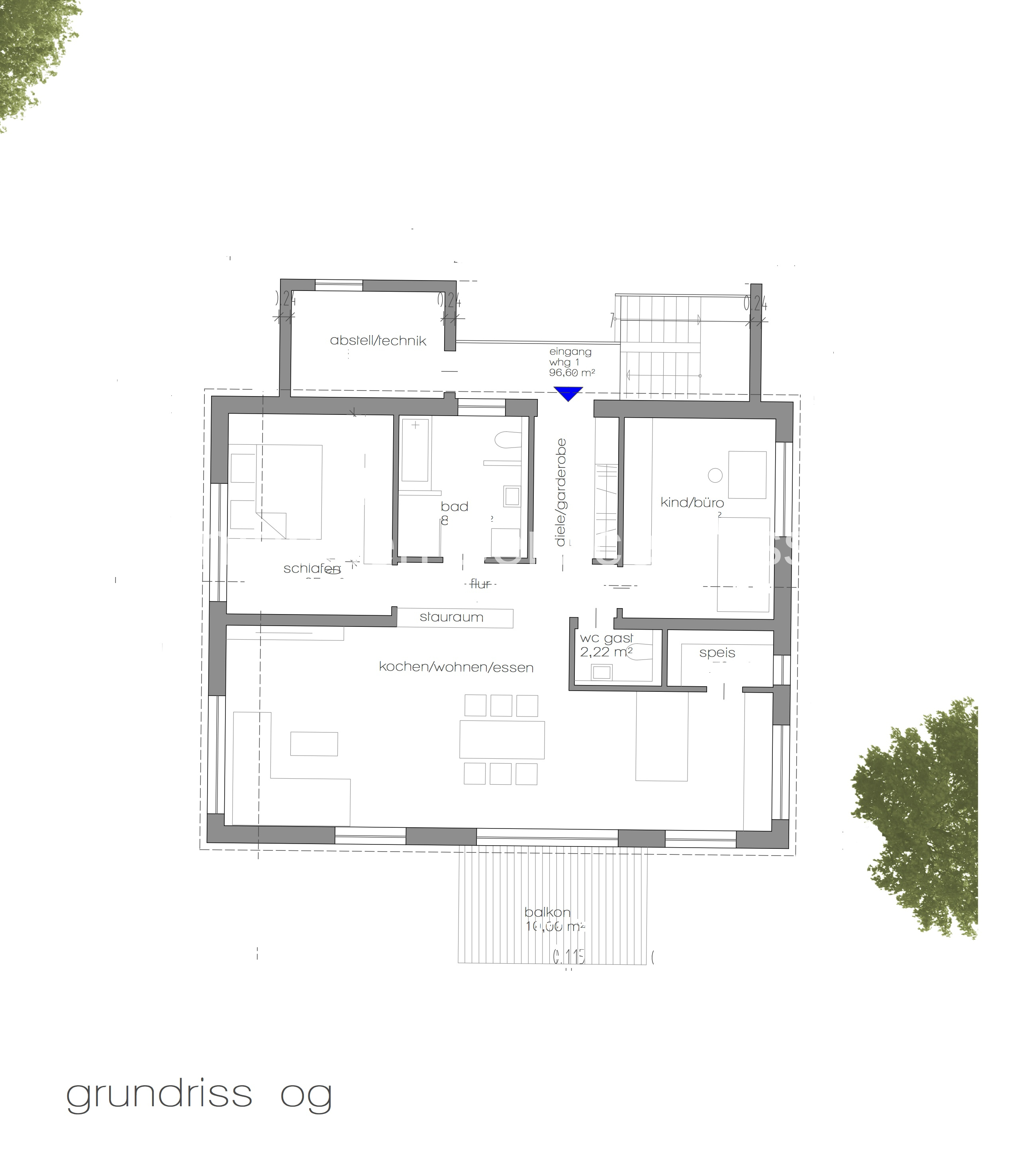 Obergeschosswohnung